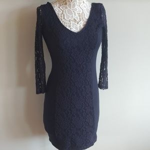 Abercrombie Navy dress medium